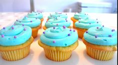 Cotton Candy Cupcake Recipe That's Both Pretty & Sweet