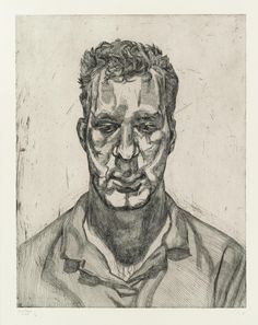 Lucian Freud (1922-2011) Kai 1991 (790 x 627 mm)
