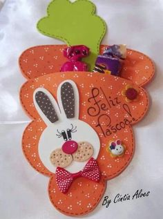 Pascua Foam Crafts, Decor Crafts, Diy And Crafts, Crafts For Kids, Bunny Crafts, Easter Crafts, Happy Easter, Easter Bunny, General Crafts