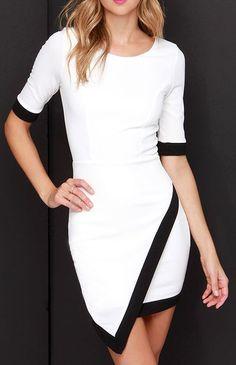 Wrap-phrodisiac Ivory Dress