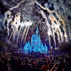 December 4, 2014  With @nat_tello! #Disney #Fireworks #CinderellaCastle…