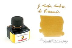 J. Herbin Ambre de Birmanie. Golden yellows are the best this time of year.