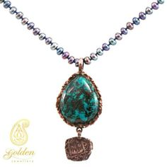 Wonderful handmade necklace now available by goldenjewellery