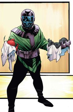 Kang the Conqueror (Nathaniel Richards) (Earth-6311) | art by Olivier Coipel