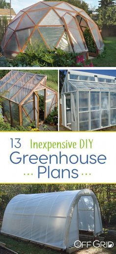 16 Awesome DIY Greenhouse Projects with Tutorials | Gardening