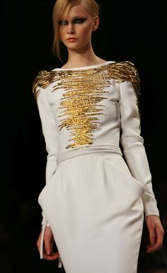 Stephane Rolland couture.