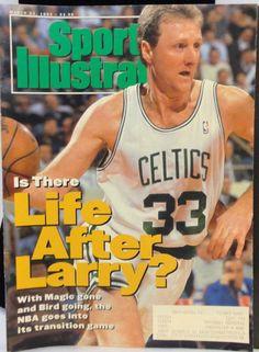 March 23 1992 Larry Bird Boston Celtics Basketball Sports Illustrated