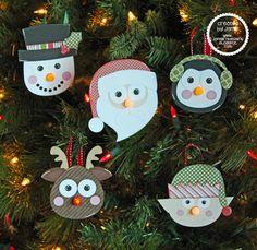 SVG Cutting Files: Christmas Tea Light Ornaments