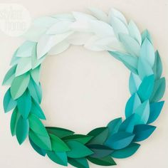 Create a wreath.