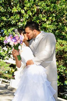 casamento , noivos , patyerick , beijos