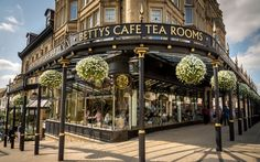 betty's tearooms, harrogate, north yorkshire
