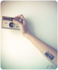 A collection of film camera tattoos over at Shooting Film