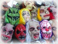 Máscaras terroríficas para niños