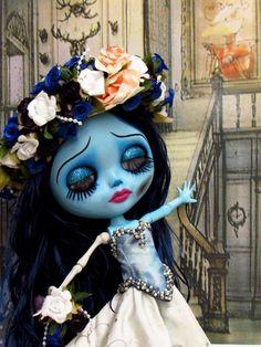 Blythe Custom caracterizada Corpse Bride para Mônica Figueiredo | Flickr - Photo Sharing!