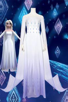New Frozen 2 Elsa Cosplay Costume Style C Disney Princess Dresses, Disney Dresses, Elsa Cosplay, Cosplay Costumes, Gala Dresses, Nice Dresses, Frozen 2 Elsa Dress, Elsa Halloween Costume, Frozen Outfits