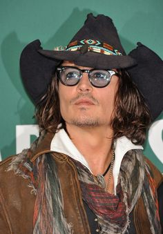 Johnny Depp attends a book discussion at Barnes & Noble Union Square on September 21, 2012 in New York City.