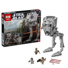 54.00$  Buy here - http://alipfs.shopchina.info/go.php?t=32801516044 - 2016 New Lepin 05052 Star War Series 1068pcs Out of print empire AT ST Building Blocks Bricks Model Toys Boys Gifts 75153  #magazineonlinewebsite