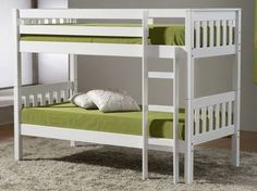 Seattle Ivory Bunk Bed - £269