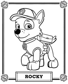 38 best summer c paw patrol images paw patrol birthday Dome Tent paw patrol rocky coloring page from paw patrol category select from 30582 printable crafts of cartoons nature animals bible and many more