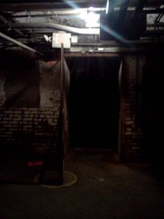 Plenty Of Dark Corners In The Basement