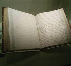 Manuscrito de Jane Eyre en la Treasures Gallery