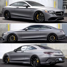 Mercedes-Benz S63 AMG Coupe customized by @exclusivemotoring #exclusivemotoring