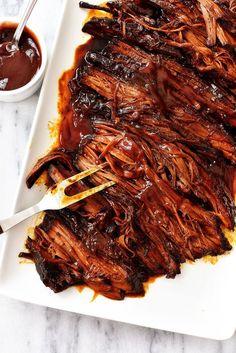 Slow Cooker BBQ Beef Brisket - - Slow Cooker BBQ Beef Brisket What's For Dinner? bbq beef brisket in the slow cooker – easy dinner recipe Beef Brisket Slow Cooker, Bbq Brisket, Smoked Beef Brisket, Crock Pot Slow Cooker, Cooking Brisket, Brisket Sandwich, Crock Pot Brisket, Bbq Beef Crockpot, Recipes