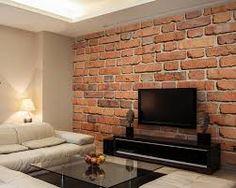 Bildergebnis Für Wohnzimmer Mit Steinwand