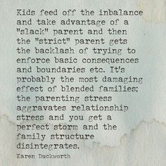 Yes!!!!!!! It's rough being the only parent who believes in discipline and cares how the kids grow up!
