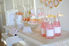 Pink and Gold Ballerina Birthday Party by Andressa Hara of Twinkle Twinkle Little Party