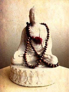 lovely Buddha, lovely set of mala beads.