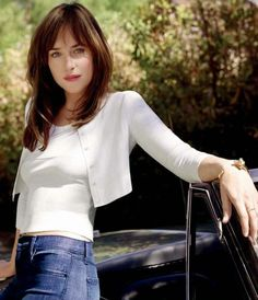 Dakota Johnson from Fifty Shades of Grey Promo Shoot