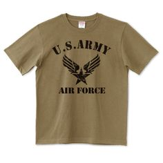 U.S.ARMY AIR FORCE | デザインTシャツ通販 T-SHIRTS TRINITY(Tシャツトリニティ)