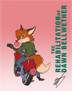 """Valerie Vulpes and Ol' Red by WastedTimeEE.deviantart.com on @DeviantArt #oc #anthro #fanart #fanfiction #fox #zootopia This is one of several character sheets I made for my story """"The rehabilitation of Dawn Bellwether."""" The whole story is up on Fanfiction.net but you can also read some of it here.  At first blush Val seems like your typical troubled teen. She's snarky, inappropriate,and has a dark sense of humor. She'll also swear up and down that 'Old Red' is the only thing she loves, and…"""