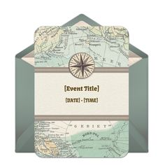 Customizable, free World Map online invitations. Easy to personalize and send for a party. #punchbowl