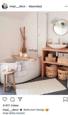 [I love this interior design! It's a great idea for home decor. Home design. – Lena Albrecht I love this interior design! It's a great idea for home decor. Home design. I love this interior design! It's a great idea for home decor. Home design. Bathroom Bath, Small Bathroom, Bathroom Ideas, Neutral Bathroom, Modern Bathroom, Bathroom Laundry, Master Bathroom, Bathroom Colors, Shower Ideas