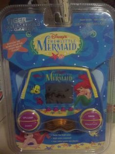 Disney's The Little Mermaid Electronic Handheld LCD Game by Tiger. $25.00. Disney's The Little Mermaid Electronic LCD Game (1997)