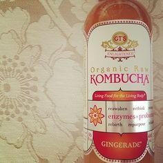 kombucha. great for detoxing.