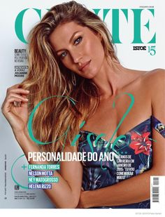 The unstoppable force that is Gisele Bundchen graces the January 2015 cover from Istoe Gente Brazil.