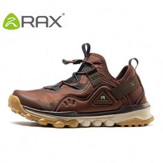 39338d0d8b8 RAX Men Waterproof Hiking Shoes Light-Weight Outdoor Sports Brand Shoes Men  Breathable Fashion Sneakers