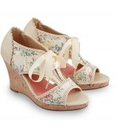 A Day To Remember Shoes We love a summer wedge and this style is full of vintage charm. A lavish lace overlay, floral print and delicate scallop edging come together with ribbon lacing for a boutiquey look thats ideal for a  http://www.MightGet.com/march-2017-1/a-day-to-remember-shoes.asp