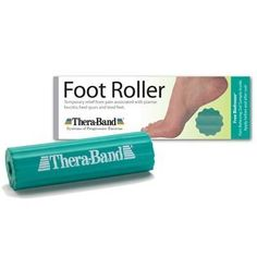 Thera-Band Foot Roller - Foot Massager - helps relieve plantar faciitis pain #26150 by Theraband. $9.19. Thera-Band¨ Foot Roller Foot Massager Help Relieve Plantar Fasciitis Pain As anyone with heel pain or tired feet can attest, it's hard to think about anything else when you can't walk without discomfort. The Thera-Band¨ Foot Roller is an affordable, simple, effective tool that provides temporary relief from foot pain associated with common conditions and excessiv...