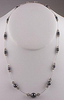 IDEA: Midnight Sparkle Necklace (eebeads.com)