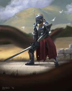 Knight Defender by LukasBanas.deviantart.com on @DeviantArt