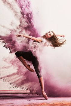 andy bate photography :: powder paint dance photography