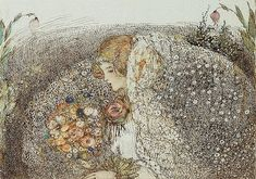 Annie French (1872-1965). The Bride. [Glasgow School of Art]