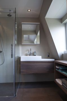 badkamer in deventer | bathroom - mint keuken & interieurbouw, Badkamer