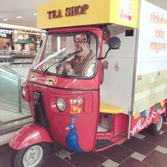 #ハロウィンワークショップ #auto #rickshaw #foodcart #streetfood #chai #rickshawcafe #electrike #bajaj #エレクトライク #オートリキシャ #オートリクシャー #chaiwala #chaiwallah #tea stall