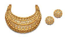 Azvavows | Filigree hansli gold textured set