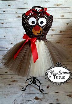 Vestido de Rudolph Vestido de Reno Vestido tutú de